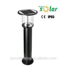 Stainless steel solar powered decoration solar garden bollard light for garden/lawn lighting