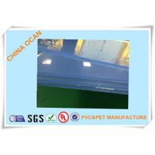 Feuille de PVC transparente pour vêtements