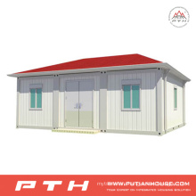 ISO Standard Prefabricated Container Home with Bedroom, Bathroom and Kitchen