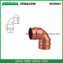 En1254 Anillo de soldadura Codo de cobre (AV8040)