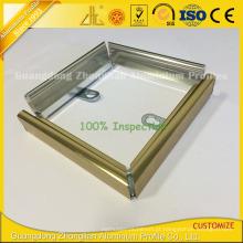 Perfil de alumínio extrusão perfil de alumínio para decoração de imagem