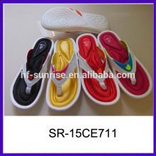 Zapatillas cómodas del dormitorio de la manera zapatillas al por mayor de los deslizadores al por mayor baratos de China