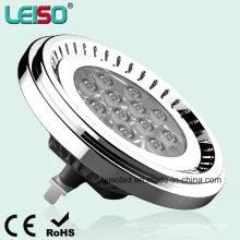 Taille de l'halogène Nichia LED 12.5W G53 100-240VAC AR111 (LS-S012-G53-ED-NWW / NW)