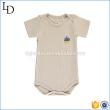 Umweltfreundlicher heißer Verkauf Bodysuit Baby Bambus Kurzarm Pyjama