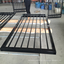 2018 New Design Cheap Aluminum Metal Picket Ornamental Fence