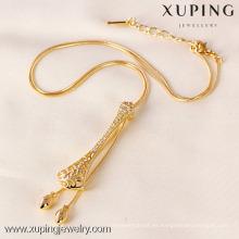 41315-Xuping soportes de exhibición de collar de aleación de calidad superior