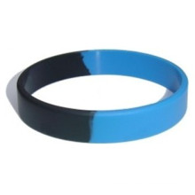 Fashion Segment Logo Silicone Wristband for Promotion