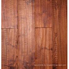 Teca china engrasada antigua Robinia pisos de madera sólida