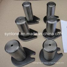 Peças de soldagem de aço personalizadas, eixo com orelha
