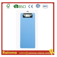 PS Material Customized Size Flat Clip Clipboard