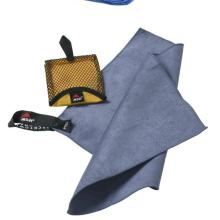 Grande serviette en microfibre par ECOdept pour les voyages et les sports ~ Essuie-mains GRATUITS ~ Séchage rapide et super compact