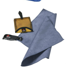 Large Microfiber Towel by ECOdept for Travel and Sports ~ FREE Hand Towel ~ Fast Drying and Super Compact