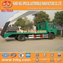 China supplier DONGFENG 4X2 6-7tons load 120hp flatbed truck with high quality and competitive price for export in Africa.