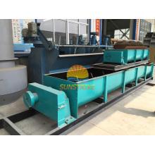 Doppelwellenmischer / Horizontale Paddelmischmaschine für Kohlebrikettierung Produktion