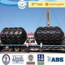 Type Cylindrique Quai d'équipement de protection EVA rempli de mousse bouées d'amarrage marine bouées