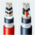Fluoroplastics insulated high-temperature electrical cable