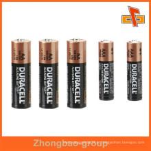 Impermeável mais recente design personalizado profissional PVC bateria etiqueta