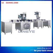Máquina de llenado y taponamiento de botellas de bebidas carbonatadas