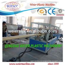 Línea de producción de tubería de PVC CPVC UPVC