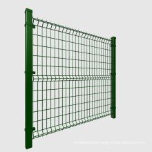 Heavy duty pvc or powder coated garden fence fencing panels