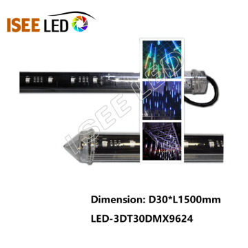 Tubes de LED d'éclairage de club de DMX 3D