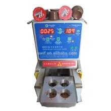 Pequeña máquina de llenado y sellado de cápsulas de café semiautomática