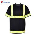 2018 safty nuevas camisas de seguridad negras con estilo