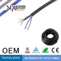 SIPU Low price fluke test cat5e messenger cable 4p 26awg network cable factory price