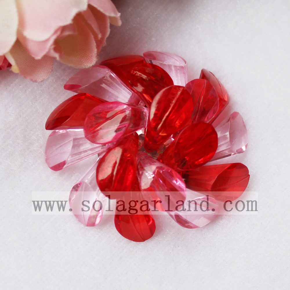 Acrylic Crystal Beading Artificial Flowers