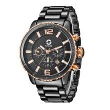 2017 Badatong горяч-продавая солнечные часы керамика хронограф, OEM солнечные часы