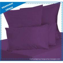 Solid Color Purple Cotton Bedsheet