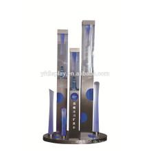benutzerdefinierte hochwertigen Einzelhandel Schnaps Flasche Acryl und Metall anzeigen stehen Regale