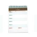 Portable Creative Simple Desktop Decoration Notepad Calendar