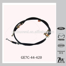 Auto Parking Brake Cable For Mazda 323 , Mazda 626 BJ GE7C-44-420