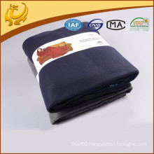 High Quality Fashionable Cheap Price Woven Brushed Plain Snuggle Wrap Blanket