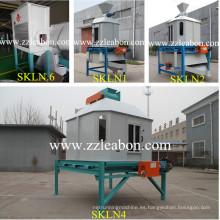 Máquina vertical de contraflujo de biomasa de pellets de biomasa