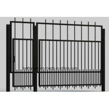 Metal Yard HDG Gate Iron Gates with Sharp End for Security