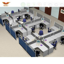Modern Larage Office Cubicle Panel Partition Workstation System (HY-231)