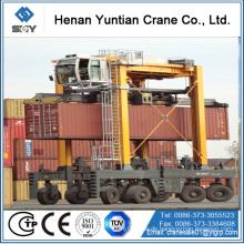 Container-Yard-Hebe-Port-Portalkran mit Gummireifen