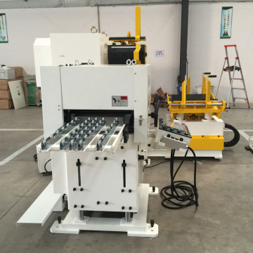 CNC Richtmaschine Feeder Uncoiler Servo 3 in 1