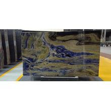Grandes plaques de sodalite bleues semi-précieuses