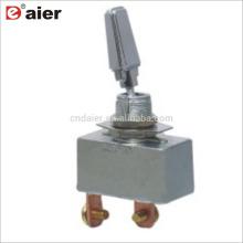 R13-401-101 50A SPST 2 Pinos Interruptor De Alavanca Pesado Cobre Chrome