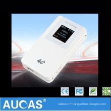 Gps wifi router 3g avec emplacement pour carte SIM