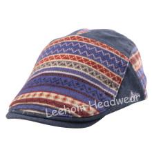 Verificação do bordado Feltro Moda Sport Golf Beret Hat (LBR14005)