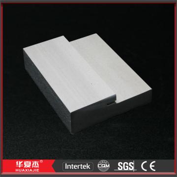 Frame de porta de molde de espuma WPC