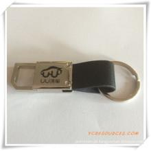 Chaveiro de metal promocional presente com logotipo (pg03101)
