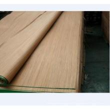 Chapa de madera reconstituida chapa de burma chapa de madera de corte rotativo para muebles