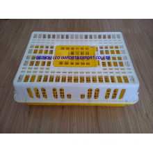 China factory price hot selling plastic transport crate cage for chicken duck poultry