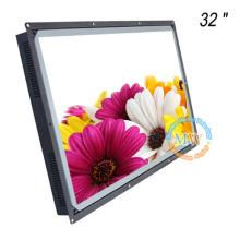 L'ODM d'OEM ouvrent le cadre écran lisible de TFT LCD de la lumière du soleil 32 pouces avec l'intense luminosité 1500 nit