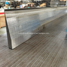 cama de aguja de plomada de máquina de barra de doble aguja